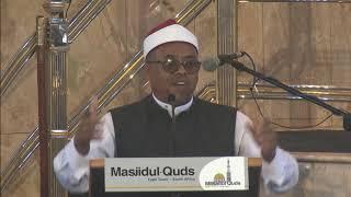 Jummah at Masjidul Quds by Sheikh Abdurahman Alexander - Muslims and the Amaanah of Islaam