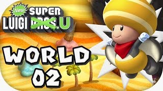 New Super Luigi U: World 02 (4 players)