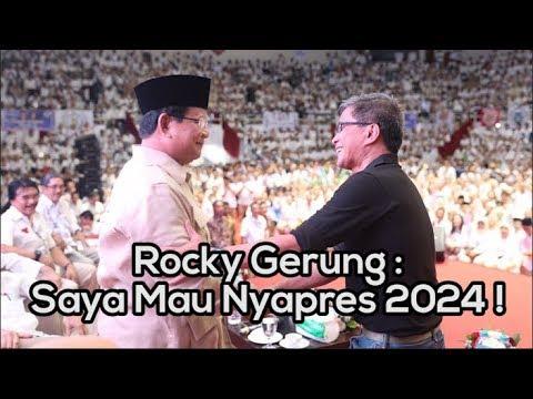 Pidato Rocky Gerung dalam acara Deklarasi Nasional Alumni Perguruan Tinggi Seluruh Indonesia