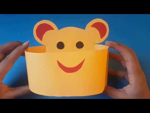 How to make kids paper hat | diy | easy craft for kids