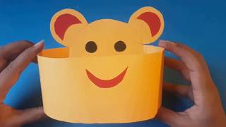 How to make kids paper hat   diy   easy craft for kids