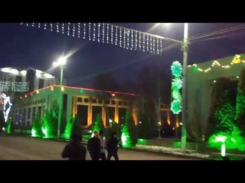 Tashkent with its famous Christmas Tree