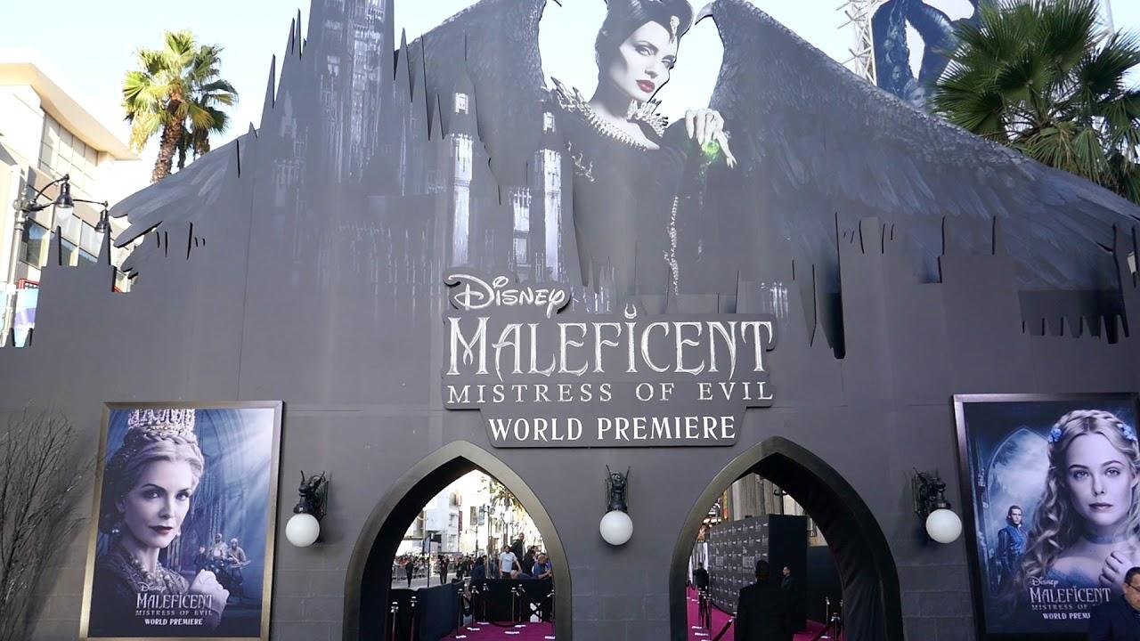 Disney Maleficent Mistress Of Evil World Premiere September 30 2019 Hollywood California Usa