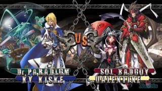 Guilty Gear 2 Overture gameplay 01 (2 vs. 2, AI) (PC version)