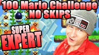 SONG MADE ME INSANE Super Mario Maker 100 MARIO SUPER EXPERT NO SKIP