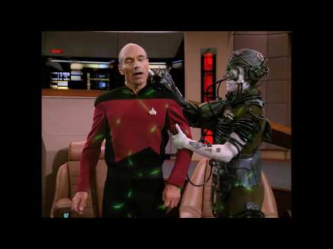 "Picard is Kidnapped by the Borg - ""Star Trek The Next Generation"""