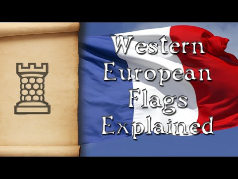 Western European Flags Explained