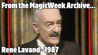 René Lavand - Magician - The Paul Daniels Magic Christmas Show - December 1987 - MagicWeek.co.uk