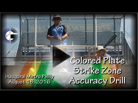 Colored Plate Strike Zone Accuracy Session, Inaugural Metro Philly