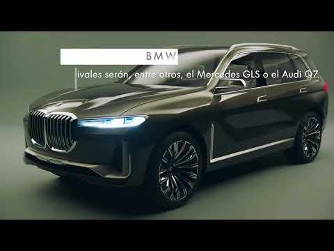 Salón de Frankfurt 2017 - BMW X7 - Información