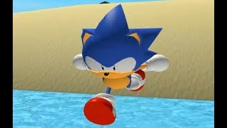 Project Mega Drive - Green Seaside Zone (Sonic Roblox Fangame)