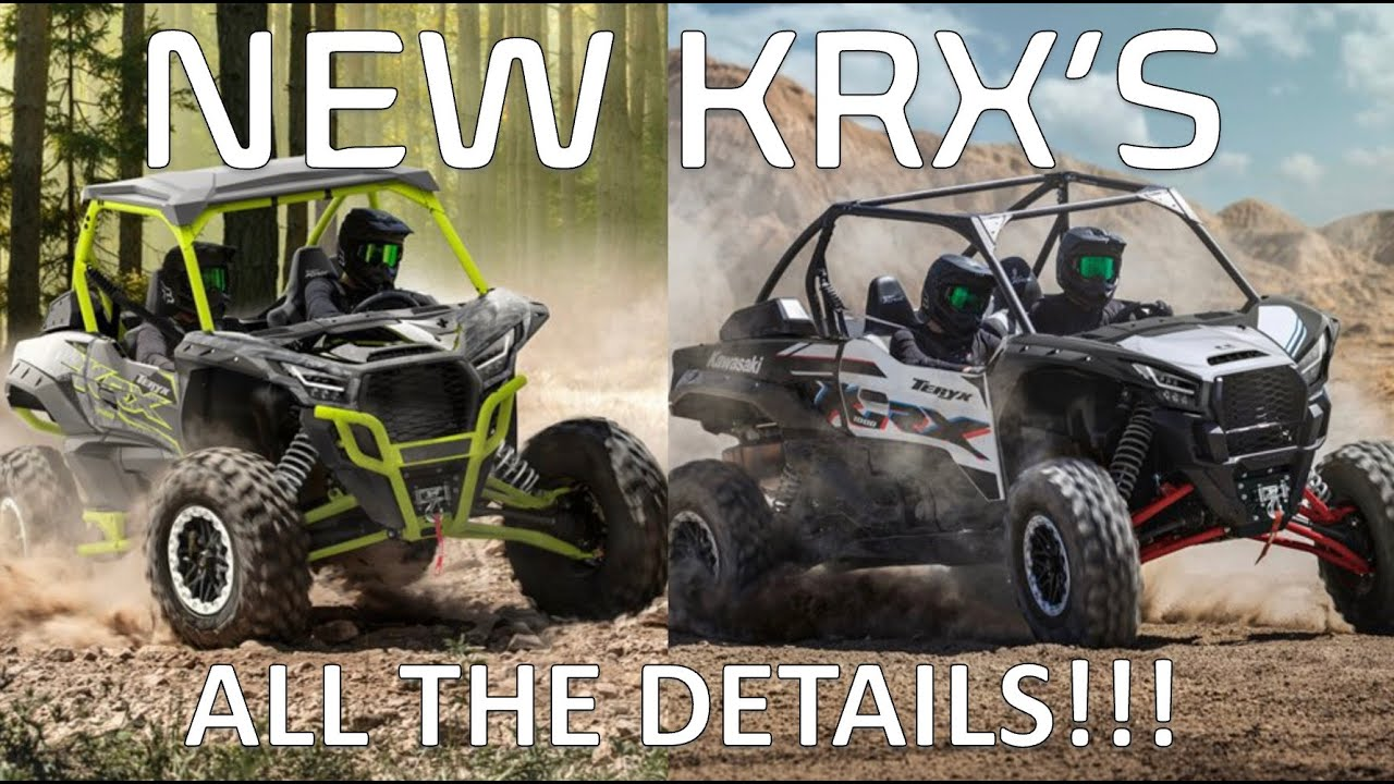 New KRX models (Special edition and Trail edition)