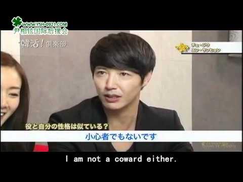 """Interview with """"Can't Lose"""" Yoon Sang Hyun & Choi Ji Woo by TV Asahi 20111023 (Eng-subbed)"""