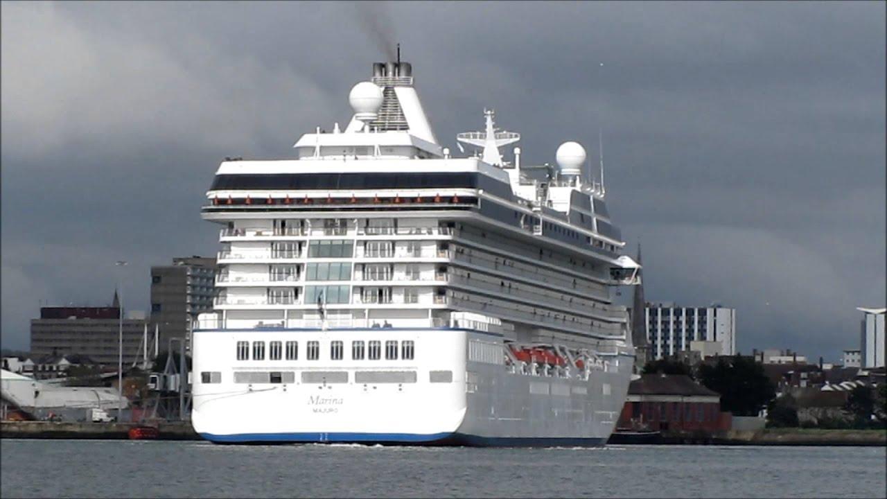 Oceania Cruises MARINA Southampton 11 June 2013 - YouTube