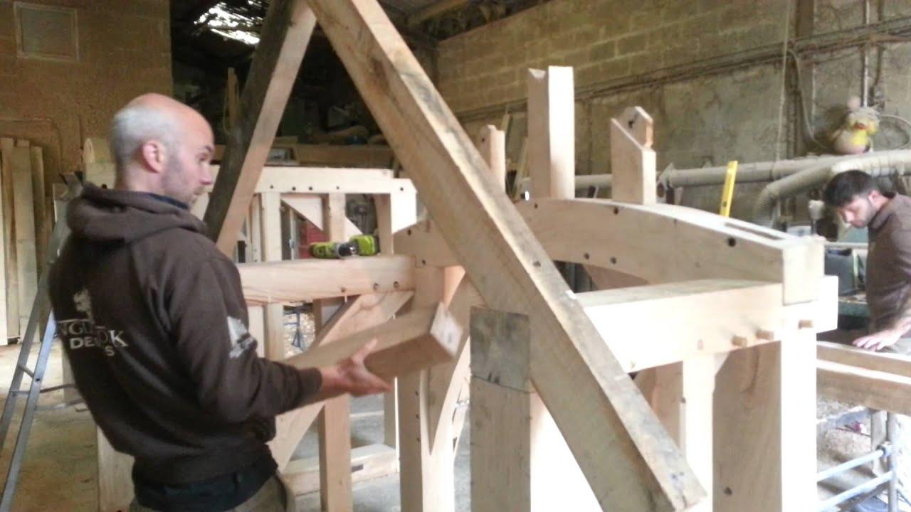 Oak Porch Assemble Kit Form Youtube
