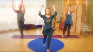 Activate your Inner Warrior (mild cardio) - 20 minute yoga class