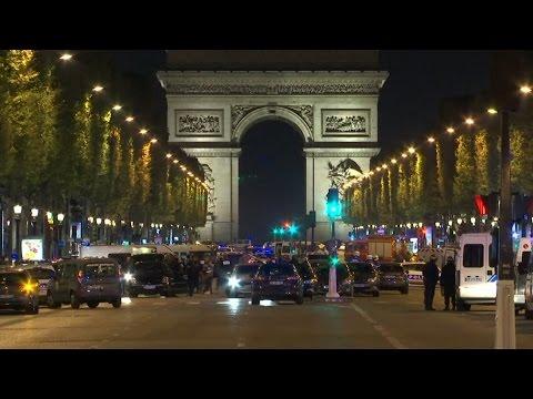 Franse politie arresteert familieleden schutter aanslag Champs-Elysées - Nieuwsminuut #2104