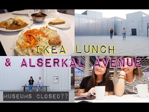 [SL TV] Vlog 4   Lunch at Ikea DFC; Alserkal Avenue