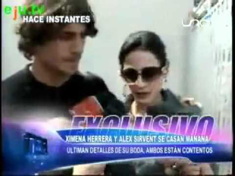 Alex Sirvent y Ximena Herrera hablan de su boda.wmv - YouTube  Alex Sirvent y ...