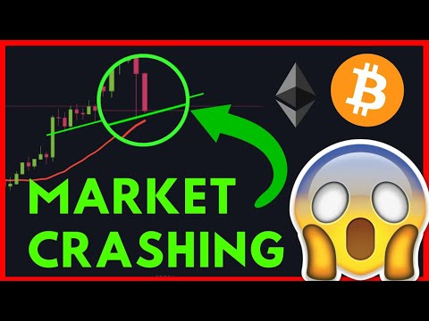 BITCOIN And ETHEREUM ARE CRASHING TO THE DOWNSIDE!! WATCH FAST!!