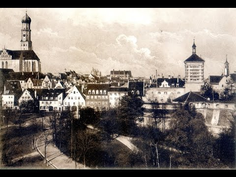 Augsburg Germany Early Photographs