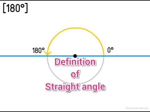 Straight angle (Definition)