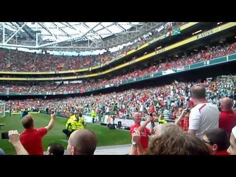 Fields of Athenry Liverpool vs Celtic