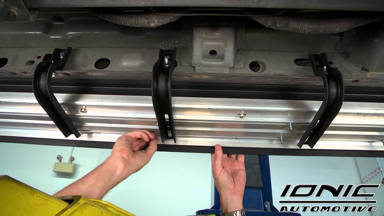 How to Install Ionic Factory Style Running Board at AutoCustoms.com - YouTube