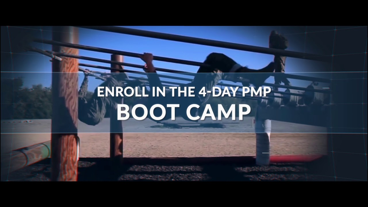 Pmp Certification Boot Camp Youtube
