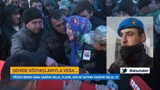 El Bab'da Şehit Olan Uzman Onbaşı Ayhan Güzel Elbistan'da Toprağa Verildi.