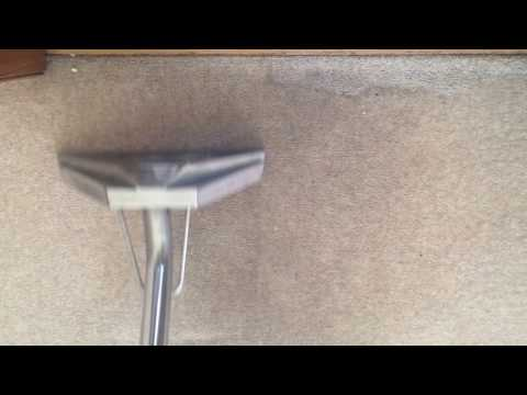 Hot water extraction on a beige carpet - Carpet Cleaning Services Dublin - Ireland - AquaDry