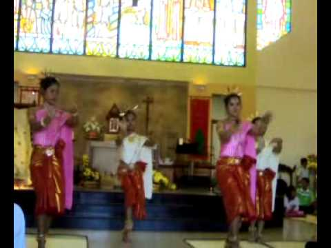 [In Khmer style] - Bless the load song of Mary