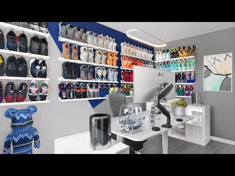 Dream Sneaker Room Setup Tour | 2019