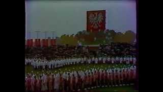 Dozynki Centralne Wąbrzeźno 1987r.