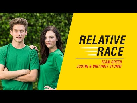 Relative Race: Justin and Brittany Stuart, Team Green - Premieres March 5 - BYUtv