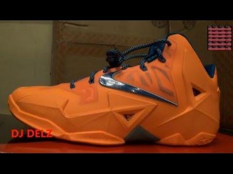 newest collection 3d5cf 7de19 Nike Lebron 11 XI HWC Atomic Orange Sneaker Review + On Feet W   DjDelz Dj  Delz Miami Akron 2