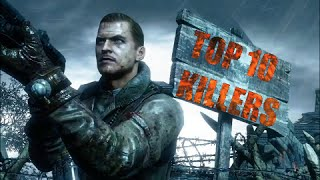 TOP 10 ZOMBIE KILLERS 2015 *READ DESCRIPTION* WORLDS BEST HIGH ROUND COD ZOMBIES PLAYER