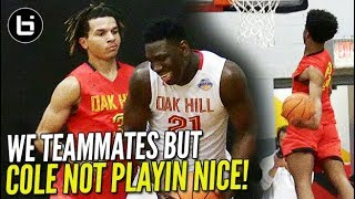 Cole Anthony NOT PLAYIN NICE! Oak Hill PUT ON DUNK-FEST when TEAM DOESN'T SHOW UP!!!