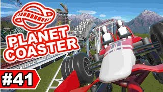 Ferrari Vs McLaren Duell-Coaster   Planet Coaster Let's Play #41