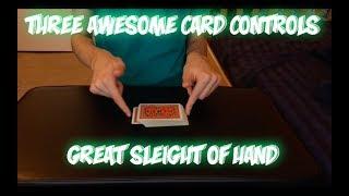 3 Awesome Card Controls: Beginner + Intermediate + Advanced Controls That FOOL!