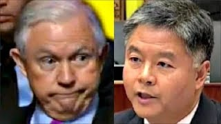 Jeff Sessions gets CAUGHT LYING by ted lieu & jeffries on Trump Russia Meetings