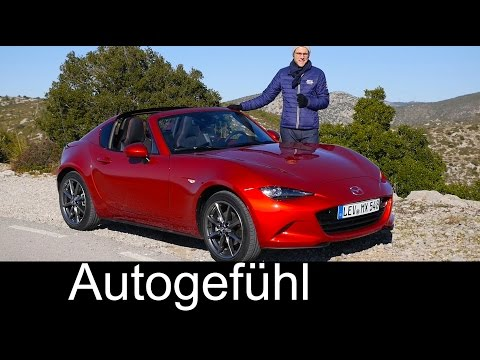 Mazda MX-5 RF Miata Fastback FULL REVIEW test driven new ND hardtop 2018/2017 neu