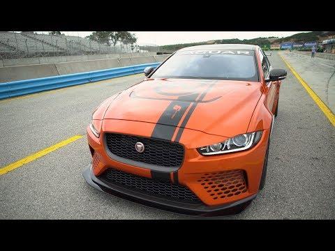 Jaguar XE SV Project 8 - Rolex Monterey Motorsports Reunion!