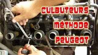 Régler les culbuteurs methode Peugeot