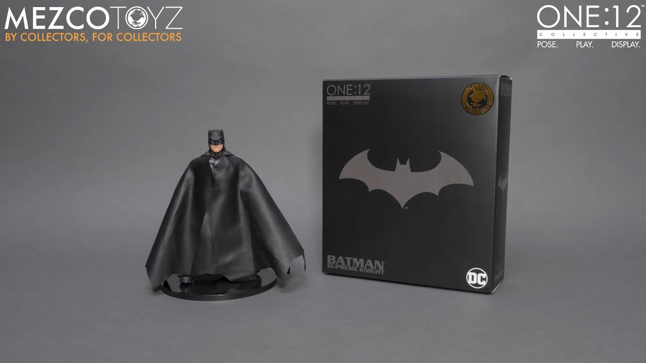One:12 Collective Batman: Supreme Knight - Shadow Edition Unboxing | Mezco Toyz