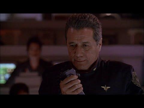 Battlestar Galactica (BSG) Adama - we are at war speech (1080P HD)