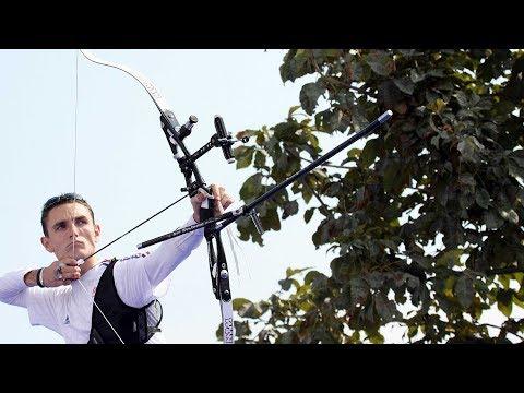 Romain Girouille v Park Kyung-Mo – recurve men's bronze   Lausanne 2008 Archery World Cup Final