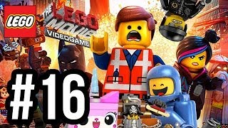 The LEGO Movie Videogame Walkthrough PART 16 - BAD COP!! (PS4 XBOX ONE WiiU PC Gameplay 1080p)