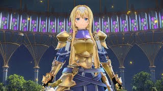 SWORD ART ONLINE Alicization Lycoris - Kirito Gameplay