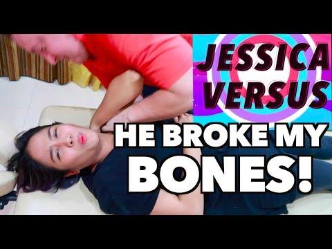 JESSICA VERSUS CHIROPRACTIC | Visiting a Chiropractor | Jessica Godinez